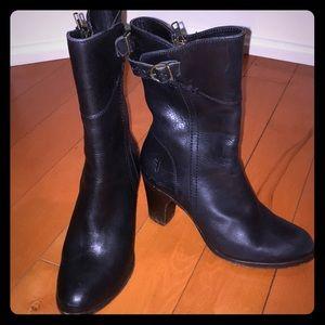 Frye black boots size 5.5